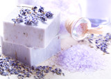 lavender spa products - 112536599