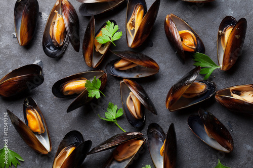 Poster Mussels