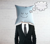 Dreaming pillow head
