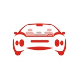 Symbol Car silhouette modern 