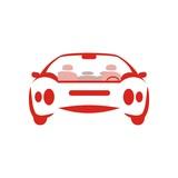 "Symbol Car silhouette modern  112301466,Safety gear kit"""