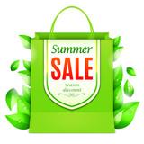 Summer Sale Shopping Bag