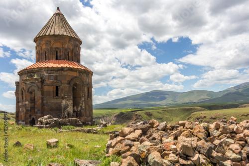Foto op Aluminium Oude gebouw Historical Ani Ruins, Kars Turkey