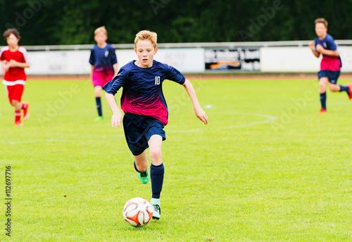 Aluminium Voetbal Jugend Fußball