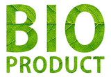 Bio product inscription