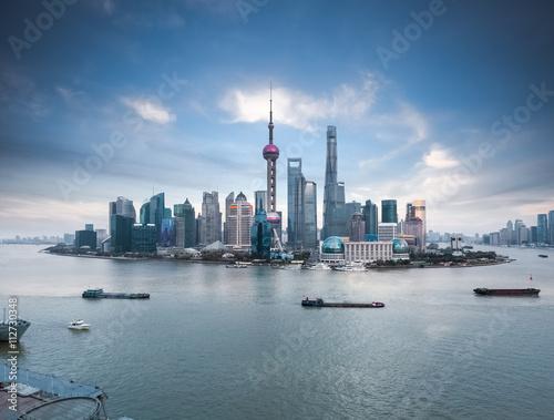Zdjęcia beautiful shanghai skyline