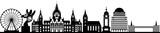 Fototapety Hannover skyline // Vektor