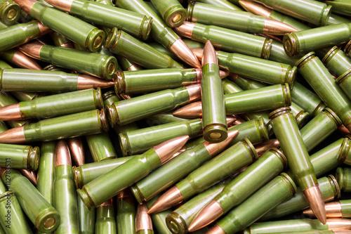 Poster Green bullets