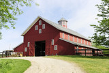 Trail to the Big, Red Barn - 112788791