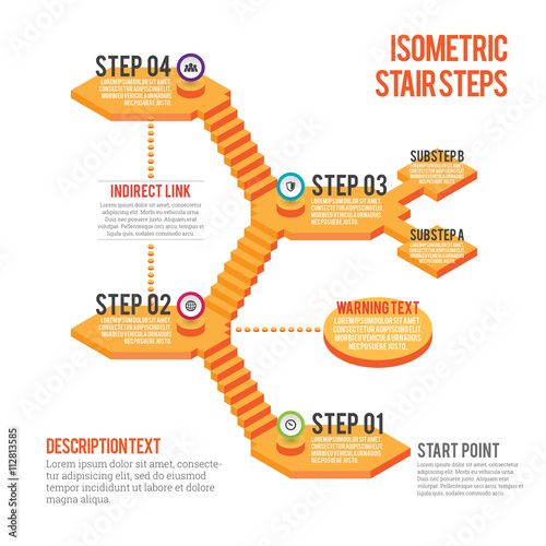 Isometric Stair Steps