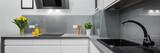 Panorama of kitchen countertops - 112832350