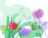progetto decorazione floreale.