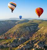 The great tourist attraction is the Cappadocia balloon flight. C