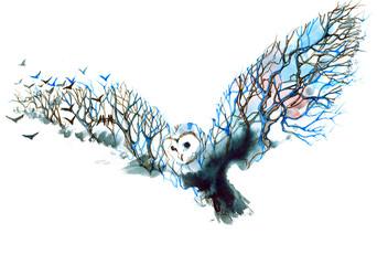 owl © okalinichenko