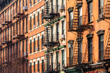 Block of Apartment Buildings in Manhattan, New York City - 112889327