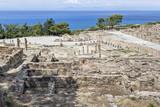 Участок акрополя античного Камира. Родос. Греция