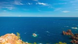 French Riviera, panoramic 4k time-lapse
