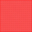 Materiał do szycia Connected circles of paper with petals cut on the edges and shadows in the cutout.  Seamless vector texture. Seamless pattern. Vector geometric background.