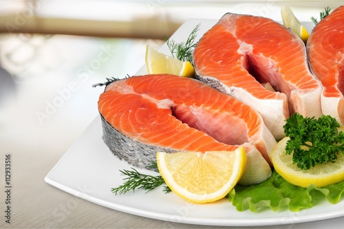Poster Lachs.