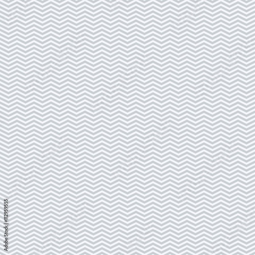 Vector seamless texture. Modern geometric background. Monochrome repeating pattern with zigzags. - 112959555