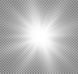 Fototapety Abstract image of lighting flare.