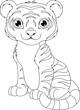 Tiger Coloring Page