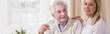 Professional carer in nursing home