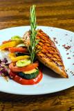 chicken steak with vegetables