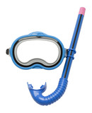 Blue Snorkel and Mask - 113107337