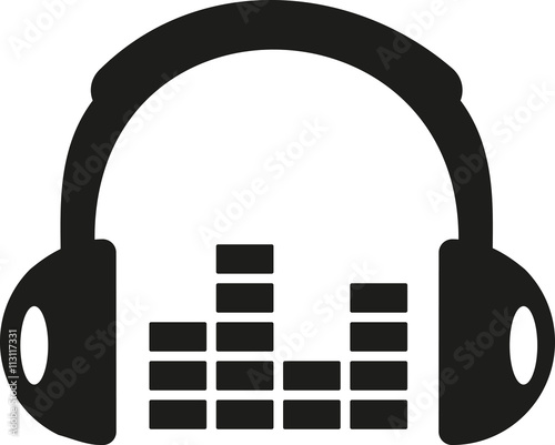 Headphones with equalizer