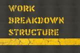 Work Breakdown Structure concept in construction industry