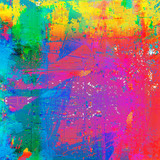 Grunge style abstract color splash background - 113120515