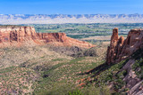 Colorado National Monument at Grand Junction, Colorado,  USA