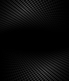 Black and white abstract halftone, perspective background - 113122933
