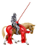 Medieval Knight on Horse