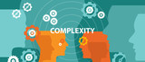 complexity concept illustration vector head thinking