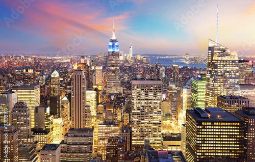 Foto op Canvas Praag New York City - Manhattan skyline