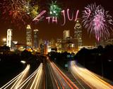 4th of July fireworks in Atlanta
