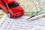 Fahrtenbuch für Auto