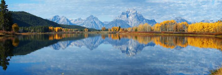 Fototapeta jesienny widok w USA panorama
