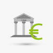 Постер, плакат: Money design Financial item icon White background isolated illustartion