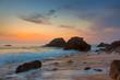 Amazing Sea Landscape at beautiful sundown