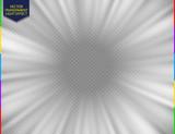 Fototapety Glow speed tunnel light effect. Star motion blur fx. Circle ray. Radiance shine vector illustration.