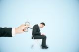 Hand controlling employee
