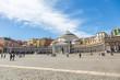 Quadro Piazza del Plebiscito à Naples