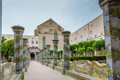 Aluminium Napels Complesso Monumentale di Santa Chiara à Naples