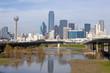 Skyline of downtown Dallas, Texas