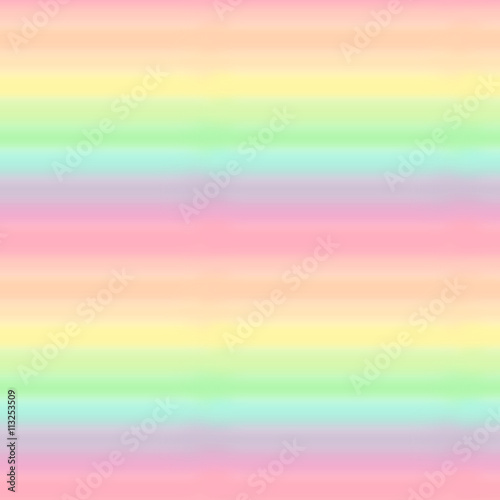 Materiał do szycia cute colorful pastel watercolor rainbow seamless pattern background illustration