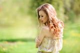 fairy, wonderful summer girl