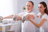 Fototapety Modern rehabilitation physiotherapy